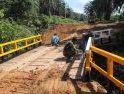 Jembatan Kedua Dusun Jonti, Selesai Dikerjakan Oleh Satgas TMMD dan Masyarakat