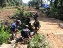 Semangat Gotong-Royong, Satgas TMMD-Masyarakat, Selesaikan Rehab Jembatan